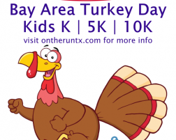 Bay Area Turkey Day 10K/5K/Kids K 2014